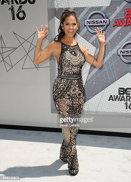 Rocsi Diaz attends the 2016 BET Awards at Microsoft Theater on June 26 2016 in Los Angeles California