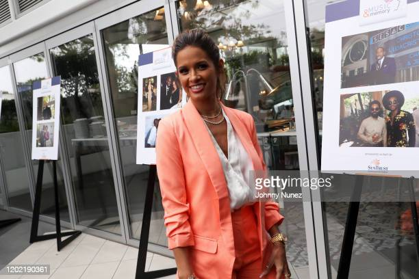Rocsi Diaz attends the Bryan Michael Cox 16th Annual Music And Memory PreGrammy Brunch 2020 at SLS Hotel on January 26 2020 in Beverly Hills...
