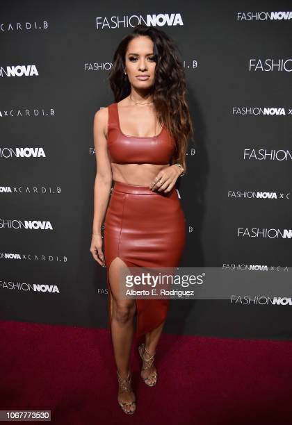 Rocsi Diaz attends the Fashion Nova x Cardi B Collaboration Launch Event at Boulevard3 on November 14 2018 in Hollywood California
