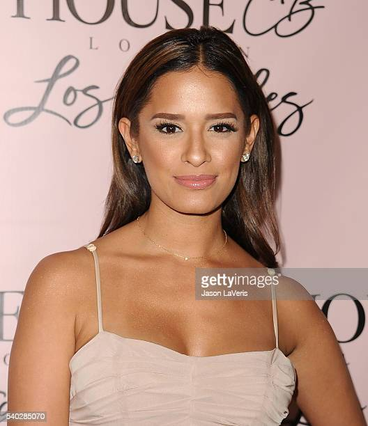 Rocsi Diaz attends the House of CB flagship store launch at House Of CB on June 14 2016 in West Hollywood California
