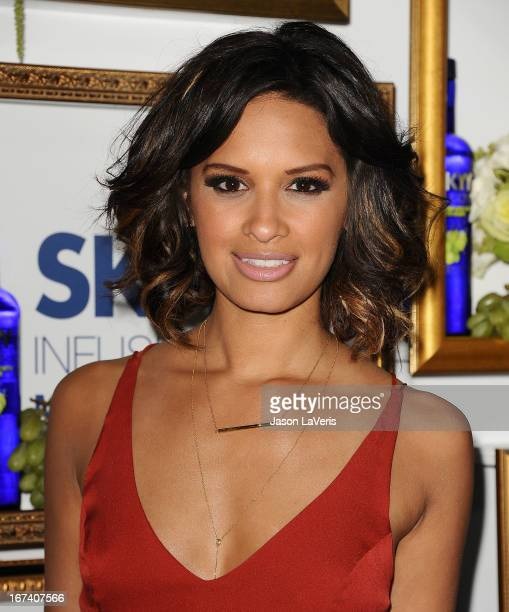 Rocsi Diaz attends the House Of Moscato launch party at Greystone Manor Supperclub on April 24 2013 in West Hollywood California