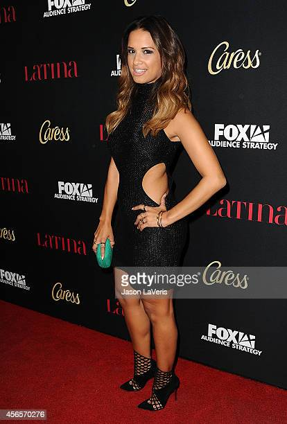 Rocsi Diaz attends the Latina Magazine Hollywood Hot List party at Sunset Tower Hotel on October 2 2014 in West Hollywood California