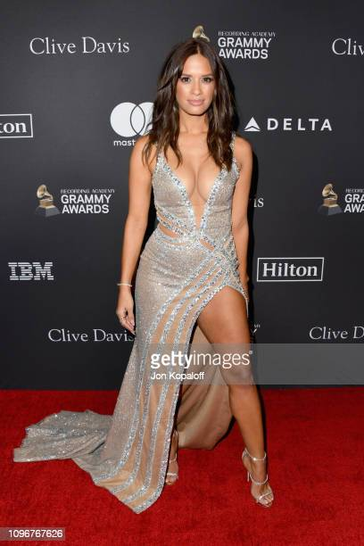 Rocsi Diaz attends The Recording Academy And Clive Davis' 2019 PreGRAMMY Gala at The Beverly Hilton Hotel on February 9 2019 in Beverly Hills...