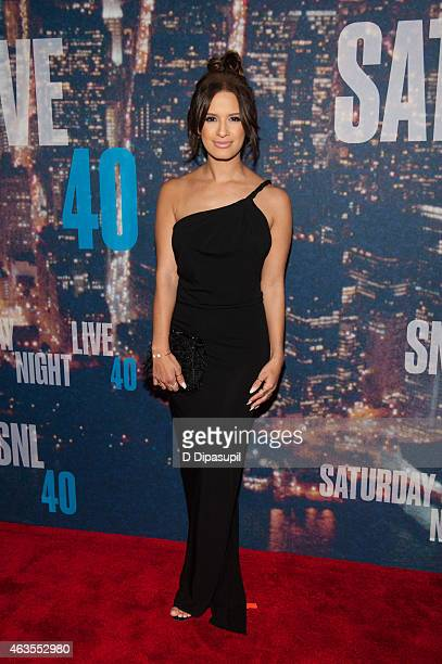 Rocsi Diaz attends the SNL 40th Anniversary Celebration at Rockefeller Plaza on February 15 2015 in New York City