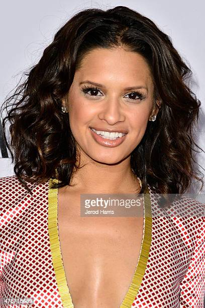 Rocsi Diaz attends the Vanity Fair Campaign Hollywood Kick Off at Sadie Kitchen and Lounge on February 28 2014 in Los Angeles California