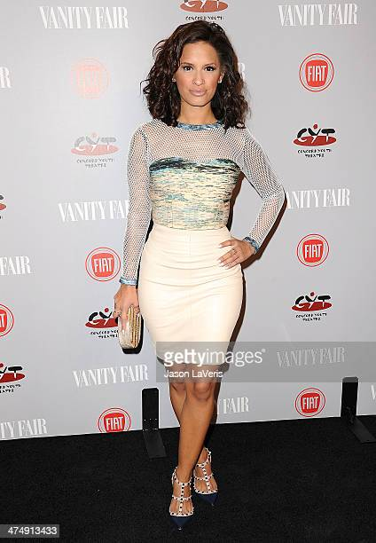 Rocsi Diaz attends the Vanity Fair Campaign Young Hollywood party at No Vacancy on February 25 2014 in Los Angeles California