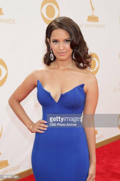 Rocsi Diaz on the red carpet for the 65th Primetime Emmy Awards which will be broadcast live across the country 8001100 PM ET/ 500800 PM PT from...