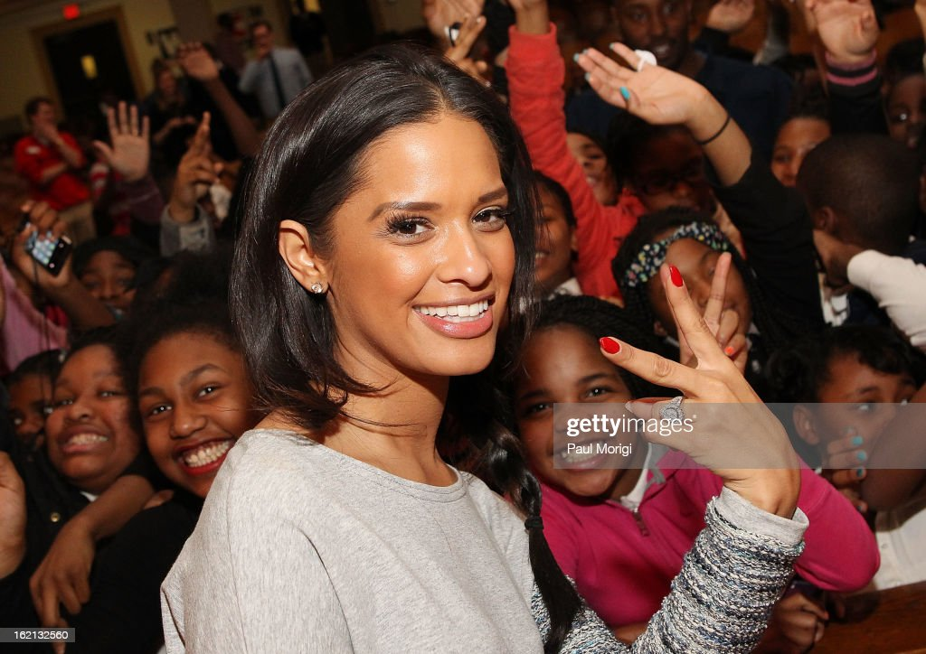 Rocsi Diaz Visits DC School With Get Schooled Victory Tour