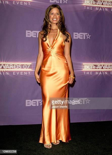 Rocsi of 106 Park during BET Awards 2007 Press Room at Shrine Auditorium in Los Angeles California United States