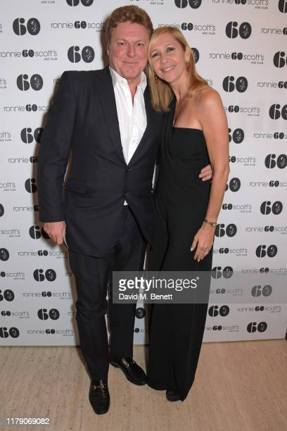 Rod Barker and Tania Bryer attend A Night At Ronnie Scotts 60th Anniversary Gala at the Royal Albert Hall on October 30 2019 in London England