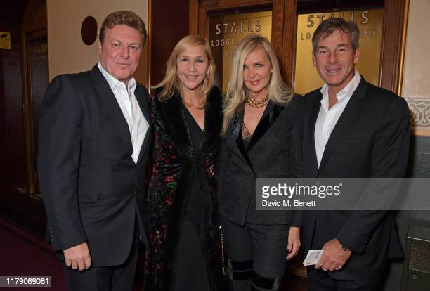 Rod Barker Tania Bryer Amanda Wakeley and Hugh Morrison attend A Night At Ronnie Scotts 60th Anniversary Gala at the Royal Albert Hall on October 30...