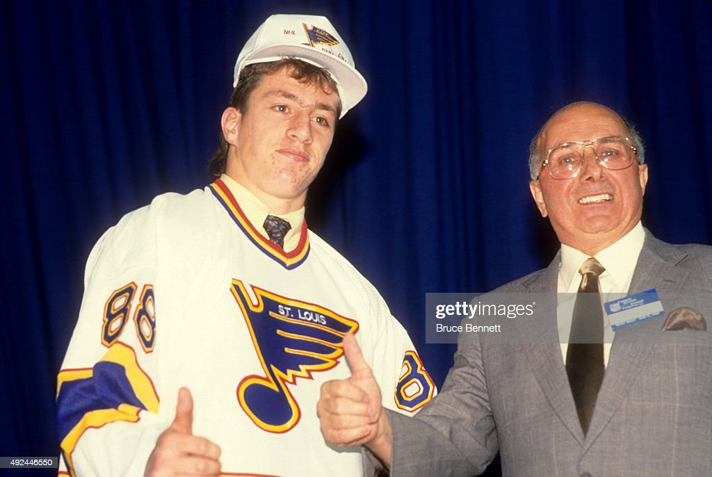 1988 NHL Draft : News Photo