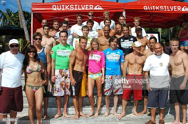 Rod Brooks Quiksilver International Kelly Hu Bruce Irons Chris Klein Doug Silva Marisa Miller Jackson Browne Tom Carroll Bruce Raymond Quiksilver...