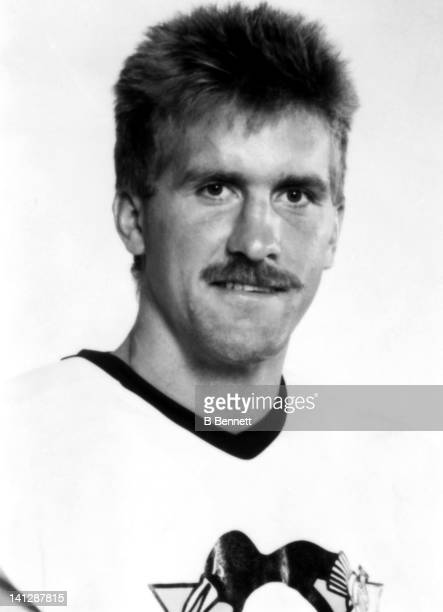 Rod Buskas of the Pittsburgh Penguins poses for a portrait in September 1988 in Pittsburgh Pennsylvania