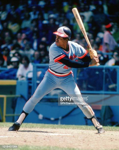 Rod Carew of the Minnesota Twins at bat during a game from his 1974 season with the Minnesota Twins Rod Carew played for 19 years with 2 different...