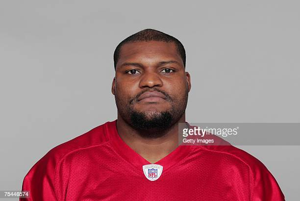 Rod Coleman of the Atlanta Falcons poses for his 2007 NFL headshot at photo day in Atlanta Georgia
