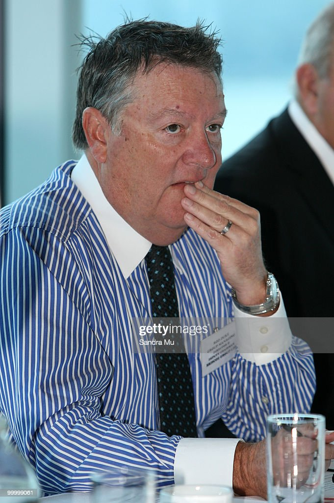 Rod Duke, Managing Director of the Brisco Group attends the Annual General Meeting on May 20, 2010 in Auckland, New Zealand. The Brisco Group includes Briscoes Homeware, Living & Giving, Urban Loft and Rebel Sport.