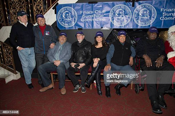 Rod Gilbert Vincent Pastore Vincent Pastore Tamsen Fadal Dominic Chianese Tamsen Fadal David N Dinkins and Cal Ramsey attend the Friar Club's...