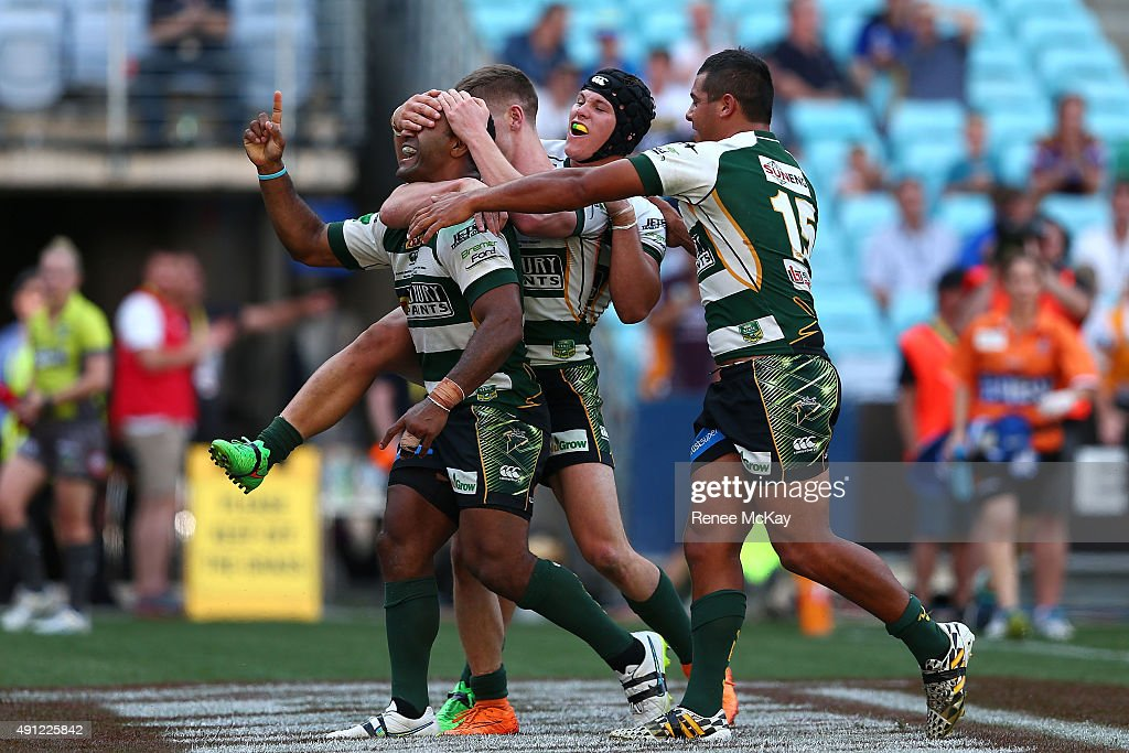 2015 State Championship Grand Final - Ipswich v Newcastle : News Photo
