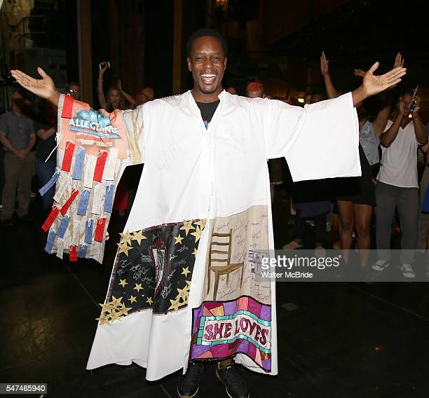 Rod Harrelson during the Actors' Equity Gypsy Robe Ceremony honoring Rod Harrelson for 'Motown The Musical' at the Nederlander Theatre on July 14,...