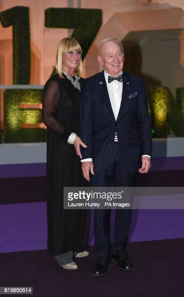 Rod Laver arriving at the Wimbledon Champions Dinner 2017 at the Guildhall London