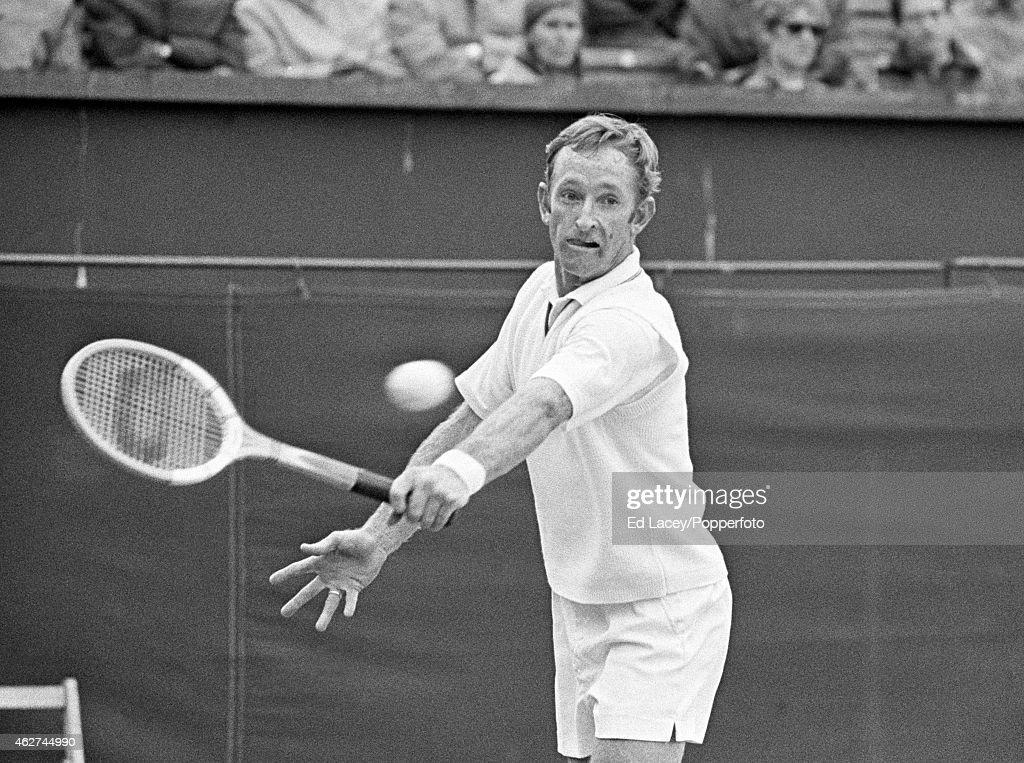 Rod Laver  -  Wimbledon : ニュース写真