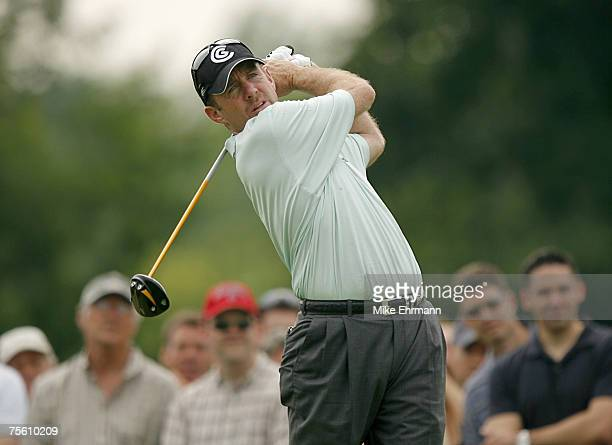 Rod Pampling during the third round of the Memorial Tournament Presented by Morgan Stanley held at Muirfield Village Golf Club in Dublin Ohio on June...