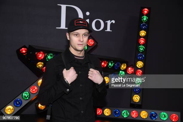 Rod Paradot attends Dior Homme Menswear Fall/Winter 20182019 show as part of Paris Fashion Week at Grand Palais on January 20 2018 in Paris France