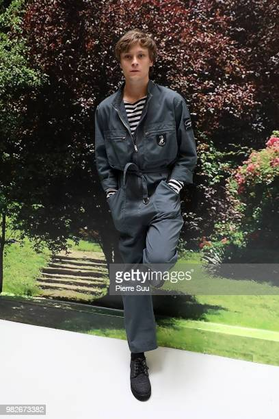 Rod Paradot attends the Agnes B Menswear Spring/Summer 2019 show as part of Paris Fashion Week on June 24 2018 in Paris France
