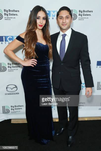 Rod Parsa and Samantha Ponce attend Big Brothers Big Sisters Of Greater Los Angeles Big Bash Gala arrivals at The Beverly Hilton Hotel on October 19...