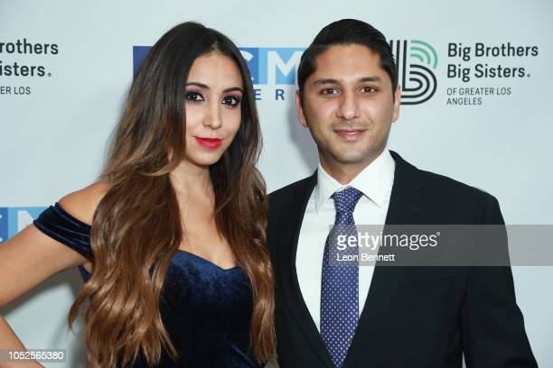 Rod Parsa and Samantha Ponce attends Big Brothers Big Sisters Of Greater Los Angeles Big Bash Gala arrivals at The Beverly Hilton Hotel on October 19...
