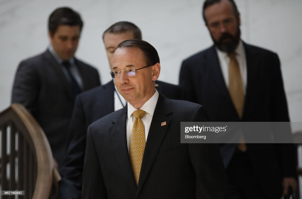 Justice Department Officials Brief Lawmakers On FBI Informant