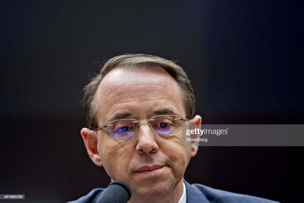 Deputy Attorney General Rod Rosenstein Testifies Before The House Judiciary Committee