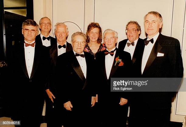 Rod Squad Nominees for the Canadian Motorsport Hall of Fame pose before the induction dinner Tuesday at the Four Seasons Hotel Left to right Horst...