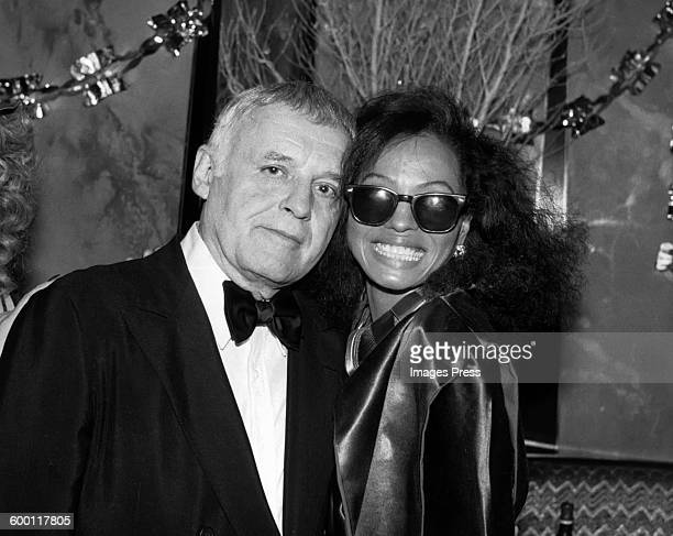 Rod Steiger and Diana Ross circa 1981 in New York City