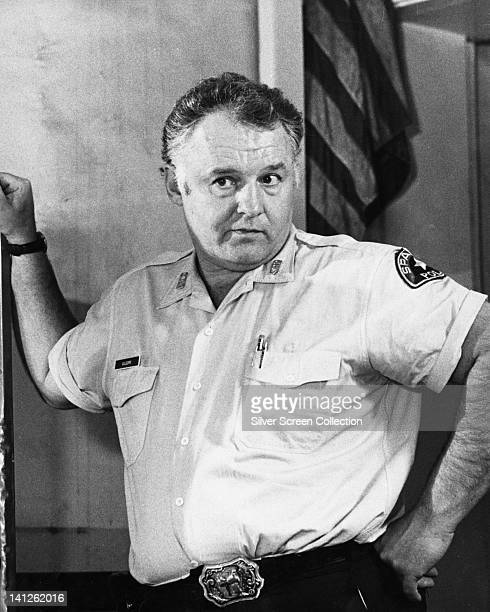 Rod Steiger , US actor, in police uniform, in a publicity still issued for the film, 'In The Heat of the Night', USA, 1967. The race drama, directed...
