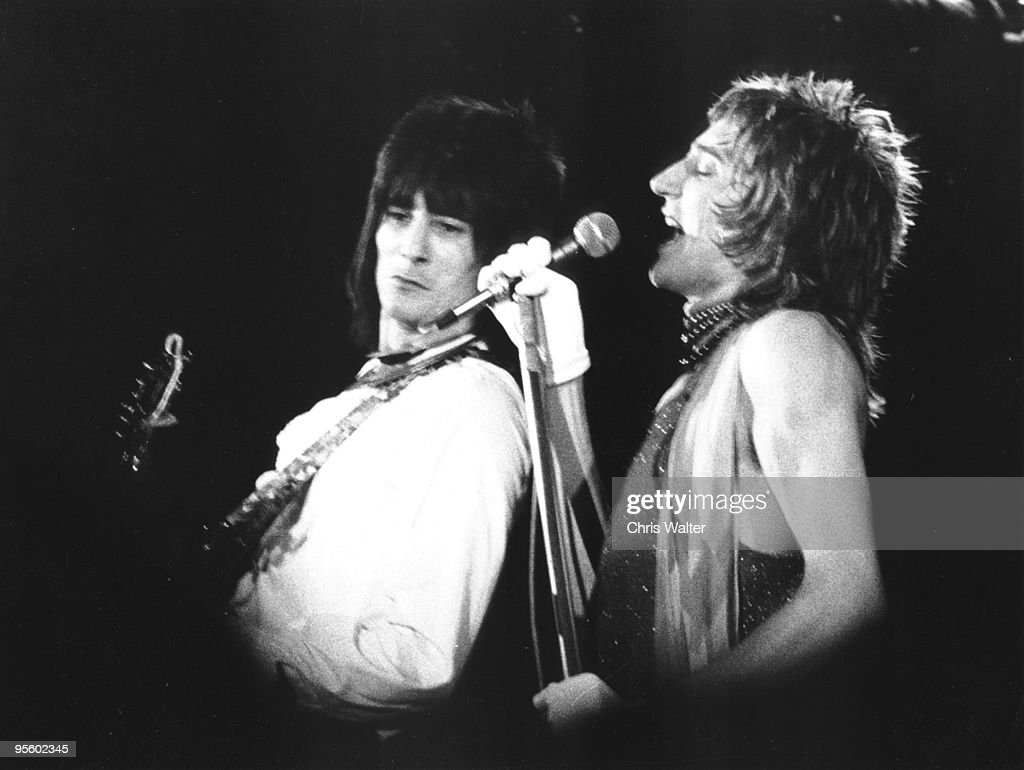 Rod Stewart 1973 with Ron Wood in The Faces