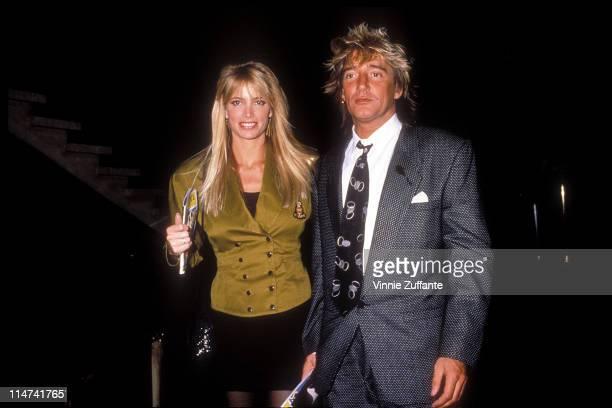 Rod Stewart and Kelly Emberg