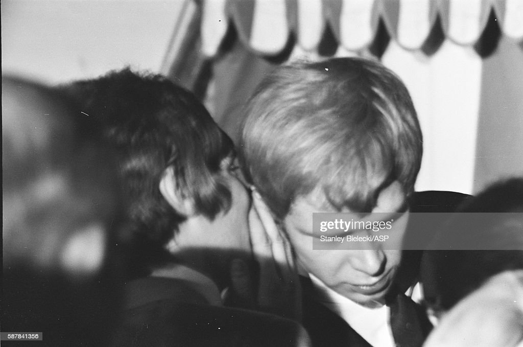 Rod Stewart and Long John Baldry of Steampacket perform on stage ...