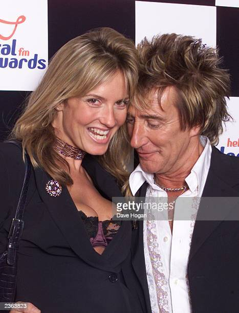 Rod Stewart and Penny at the Capital Radio Awards held at the Royal Lancaster Hotel in London, England on 4/11/2001. Photo by Dave Hogan/Mission...