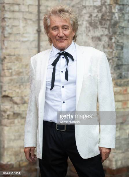Rod Stewart attends the Sun's Who Cares Wins Awards 2021 at The Roundhouse on September 14, 2021 in London, England.