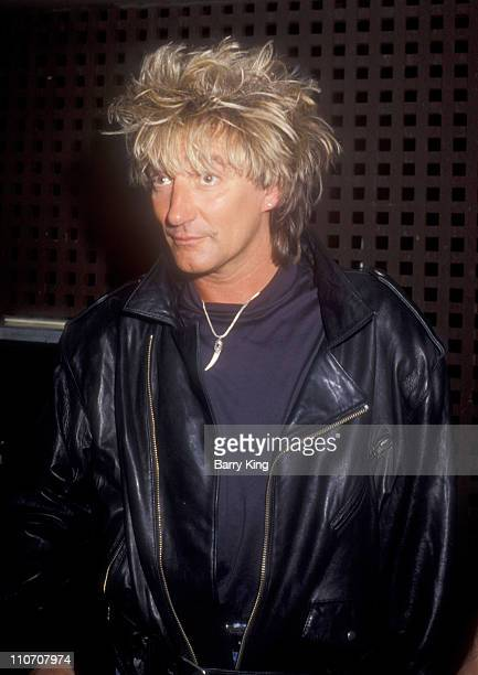 Rod Stewart during 1988 MTV Video Music Awards in Los Angeles California United States