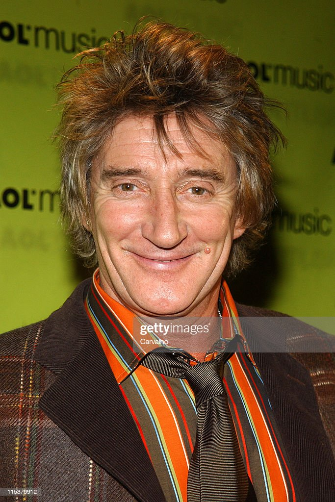 AOL Music Live Concert with Rod Stewart on the Eve of the Release of