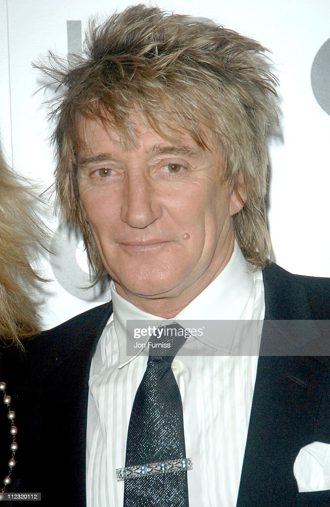 Rod Stewart during GQ Men of the Year Awards - Inside Arrivals at Royal Opera House in London, Great Britain.