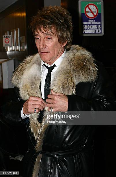 Rod Stewart during Late Late Show - Arrivals - December 1, 2006 at RTE Studios in Dublin, Ireland.