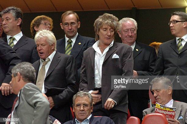 Rod Stewart during Rod Stewart Sighting at UEFA Champions League Benfica vs Celtic at 000003LIS3505061102 in Lisbon Portugal