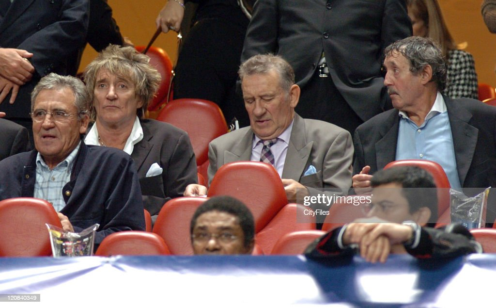 Rod Stewart Sighting at UEFA Champions League - Benfica vs Celtic ...