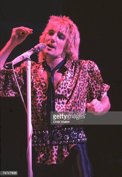Rod Stewart during Rod Stewart The Faces File Photos in los angeles
