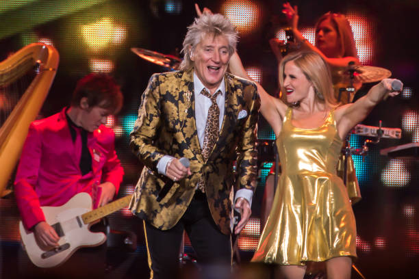 GBR: Rod Stewart Performs At The O2 Arena, London