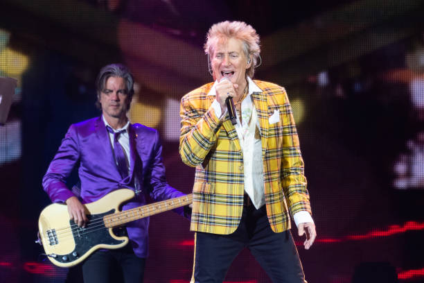 GBR: Rod Stewart Performs At The SSE Hydro, Glasgow